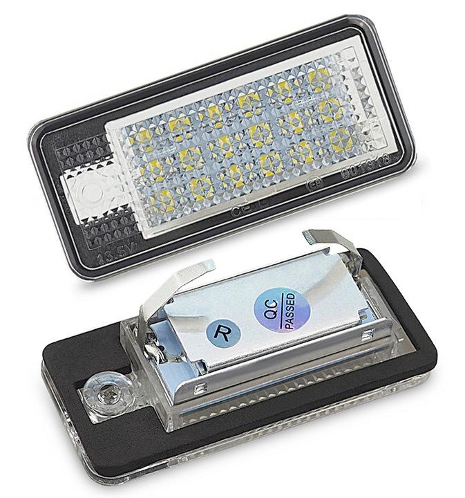 ЛАМПОЧКИ LED (СВЕТОДИОД ) ПОДСВЕТКА DO AUDI A3 8P A4 B6 B7 A6