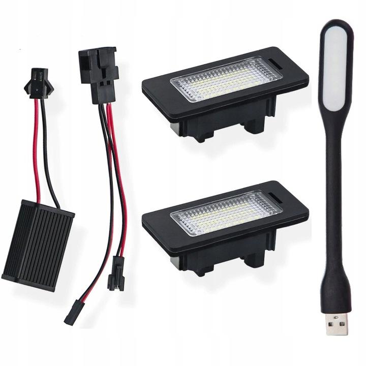 ПОДСВЕТКА LED (СВЕТОДИОД ) AUDI A4 B8 A5 Q3 Q5 TT PASSAT B6