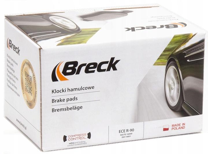 Brake Breck 21278 00 701 10 Pads