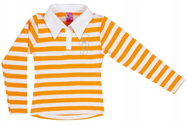 Bluzka dziewczęca z długim rękawem 134 / 140 cm 9223765270 Dziecięce Odzież GD UYZEGD-7