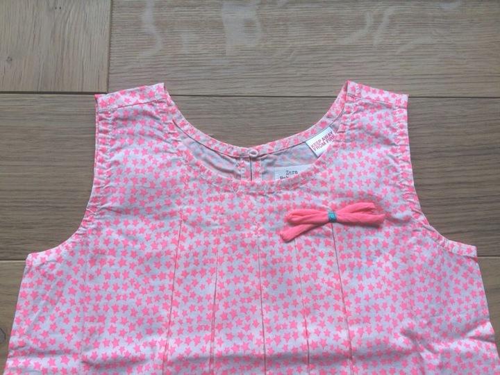 ZARA bluzeczka bluzka tunika r. 92 9900850061 Dziecięce Odzież CT FALBCT-3