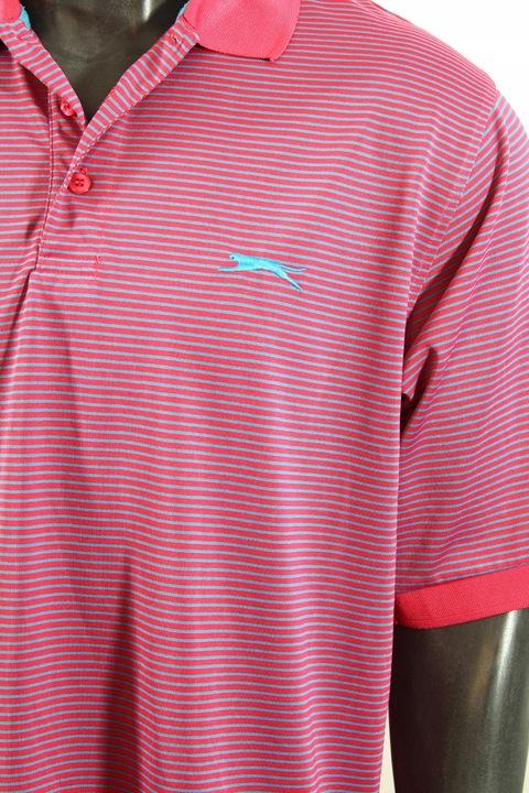 SLAZENGER Koszulka polo logowana porządna! L 9702347239 Odzież Męska Koszulki polo AT TKSZAT-8