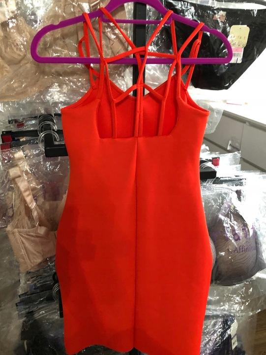 Seksowna elegancka czerwona suknia wieczorowa S/M 8709345072 Odzież Damska Sukienki wieczorowe BJ VUVWBJ-1