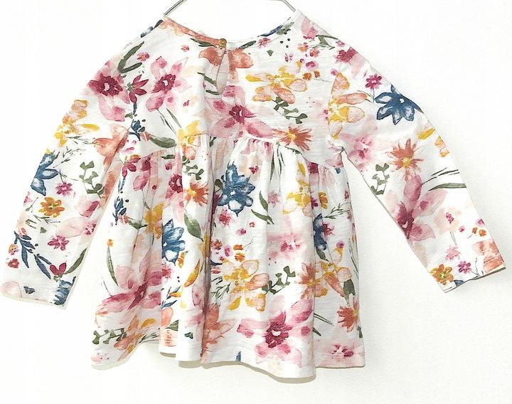 Zara Baby cienka bluzka Rozm. 80cm 9356656623 Dziecięce Odzież SO JFOASO-6