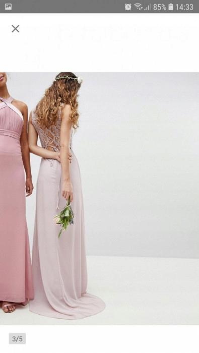 Nowa Sukienka Wieczorowa MAXI rozm. L 7917375014 Odzież Damska Sukienki wieczorowe UD JJIFUD-6
