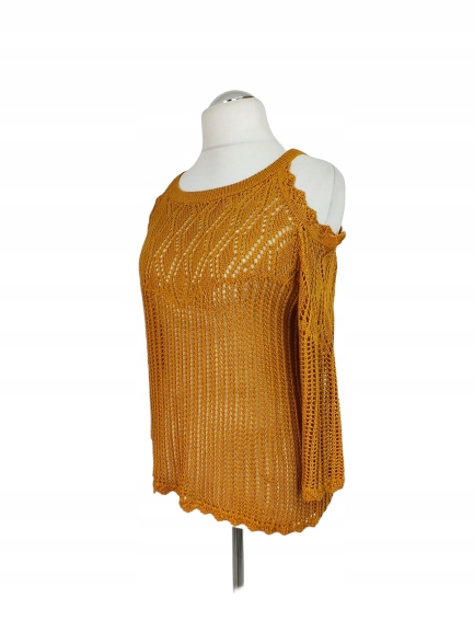 53' PAPAYA Uroczy sweter 44 46 9785386164 Odzież Damska Swetry PW DLDVPW-6