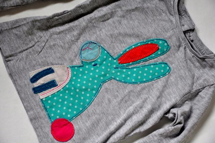 NEXT Bluzka Długi rękaw 104cm 3-4lat KrÓlik 9917150835 Dziecięce Odzież RC HPBQRC-8