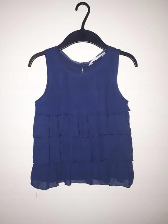 H&M, 152, szyfonowa bluzka 8623756859 Dziecięce Odzież VS JVJAVS-1