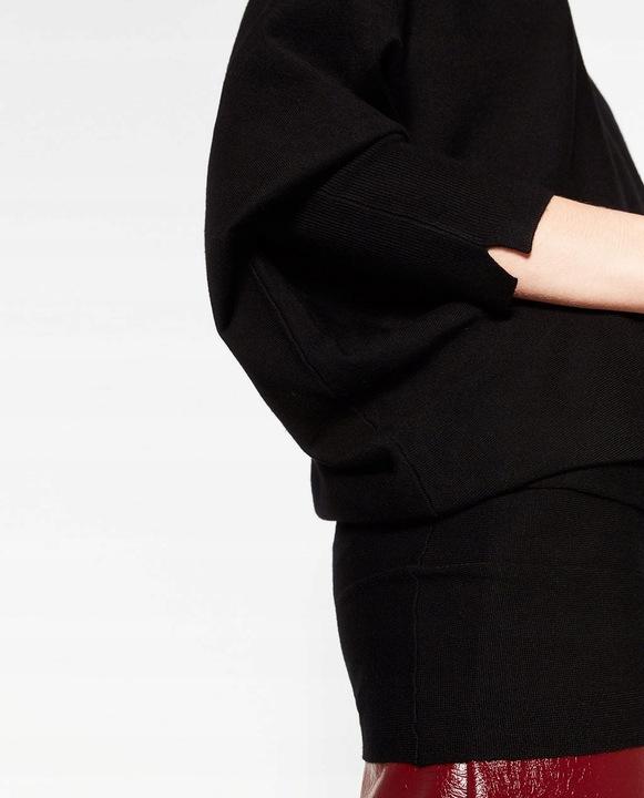 ZARA Luksusowy SWETER asymetryczny luźny M 8766500210 Odzież Damska Swetry HM QMURHM-3