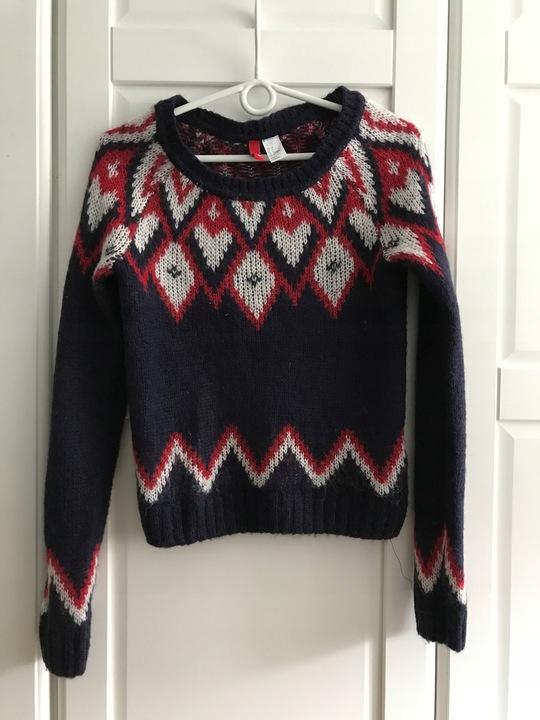H&M sweter zima święta 34 160/89A 9823991001 Odzież Damska Swetry YV