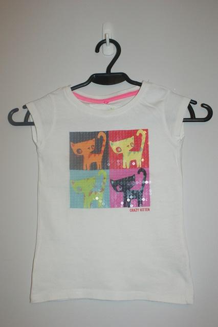 Bluzka dziewczęca next 4 lata 9926753098 Dziecięce Odzież PB TFLJPB-7