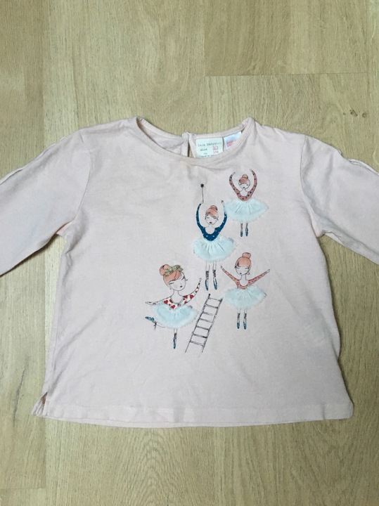 Bluzeczka ZARA r. 98/104 cm 8567665947 Dziecięce Odzież PR GGMIPR-8