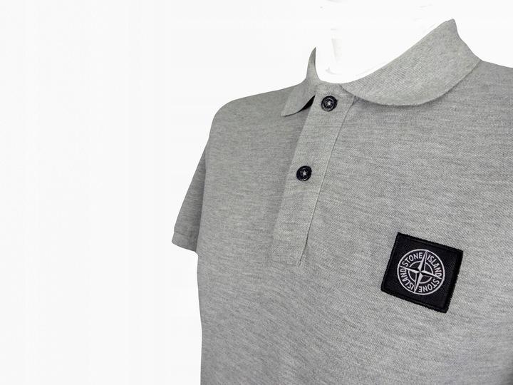 Stone Island koszulka polo męska slim fit L 71/51 8977549934 Odzież Męska Koszulki polo YD ETTIYD-3