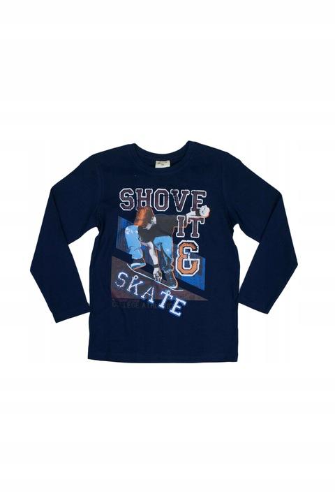 Bawełniana bluzka 0649 rozmiar 134 wyprzedaż 9791542297 Dziecięce Odzież FP OUSTFP-3