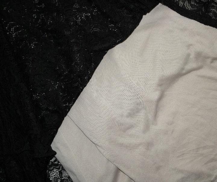 MIUSOL S 36 CZARNA DŁUGA KORONKOWA BALOWA SUKIENKA 8795748590 Odzież Damska Sukienki wieczorowe GT HAKCGT-2