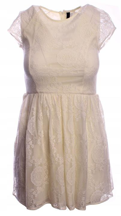 H&M__Sukienka koronkowa rozkloszowana r. M 38 9820266793 Odzież Damska Sukienki DT LVEJDT-1