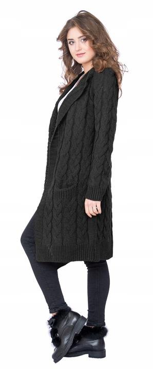 Oversizowy mięciutki kobiecy KARDIGAN SWETER 8793068971 Odzież Damska Swetry GT EFNUGT-2