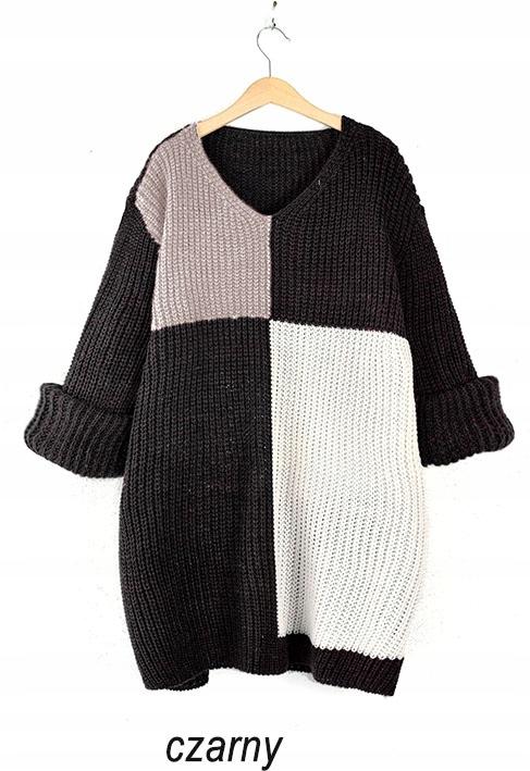 Modny zjawiskowy miękki SWETER sweterek 8605255035 Odzież Damska Swetry NG BYUBNG-8