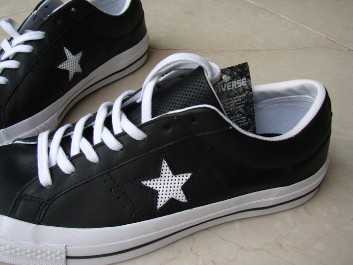 Converse ONE STAR PERFORATED LEATHER 158465C 9881710701 Buty Męskie Sportowe DG XJVADG-4
