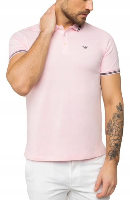 EA Emporio Armani polo koszulka męska NOWOŚĆ XXL 9610183233 Odzież Męska Koszulki polo IO MZNPIO-4