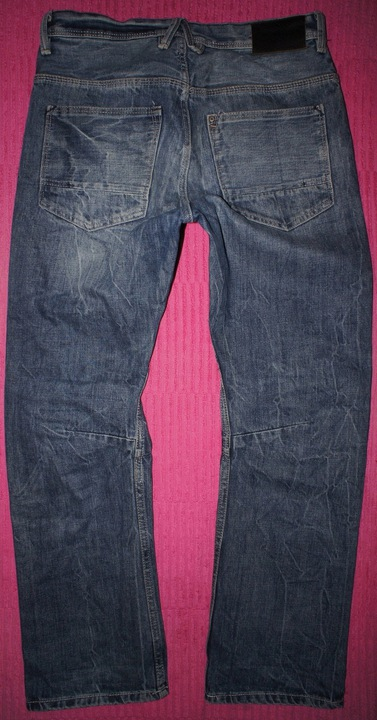 H&M relaxed - PROSTE JEANSY BIODRÓWKI 164cm 9929788225 Dziecięce Odzież HC GRIIHC-7