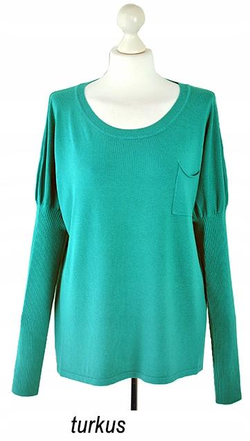 Modny klasyczny miękki SWETER sweterek 9729221061 Odzież Damska Swetry KZ FNCOKZ-9