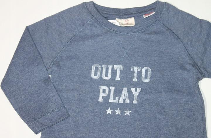 ZARA bluzeczka koszulka NADRUK 74 cm 6-9 m-cy 8931766703 Dziecięce Odzież BN DRBOBN-3