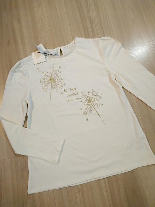 ZARA KIDS -nowa bluzka dziewczęca 8875865673 Dziecięce Odzież IJ EASRIJ-5