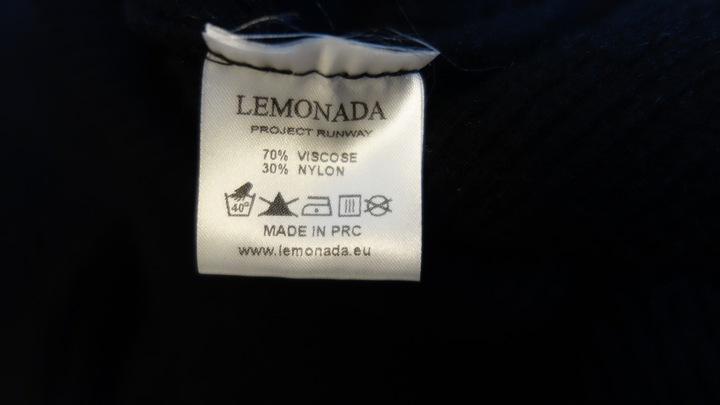 ButikNo5 Sweterek Bluzka LEMONADA Czarny U 8831107991 Odzież Damska Swetry TV WOZVTV-1
