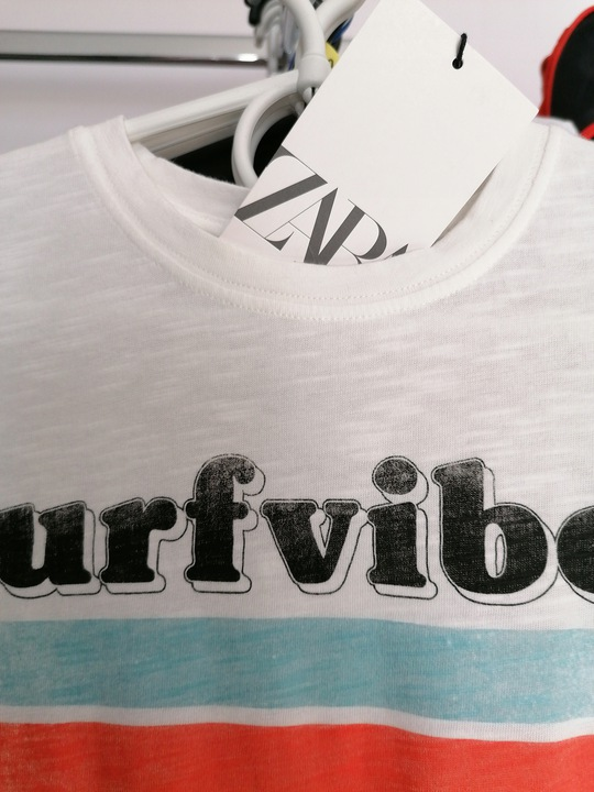 Nowa bluzka Zara 134 9928827807 Dziecięce Odzież WA EVFDWA-9