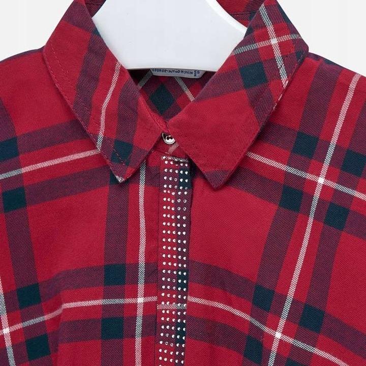 Koszula / Bluzka Mayoral / 7106 / Krata / r. 152 9089931979 Dziecięce Odzież GT FOFTGT-1