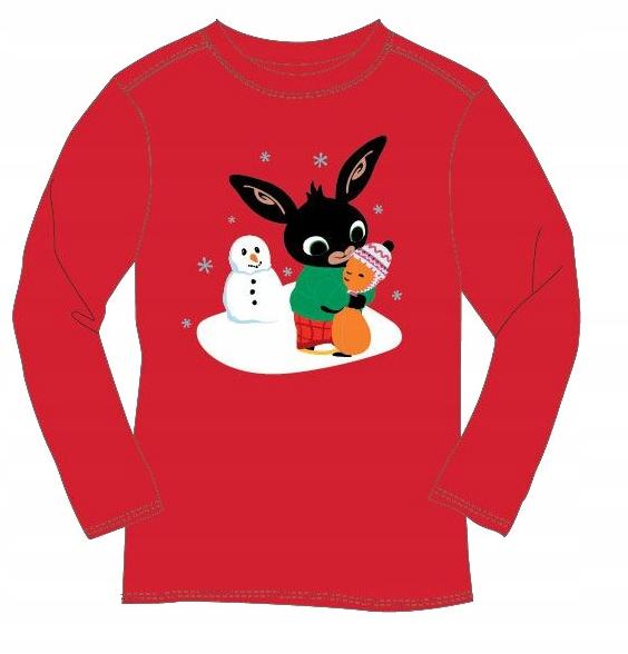 Bluzka bluza t-shirt bawełna BING Flop 128 8 lat 9835781976 Dziecięce Odzież TY VFMSTY-9