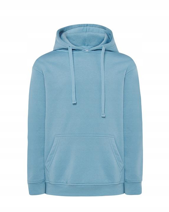 Męska bluza z kapturem bez nadruku KANGURKA XL 9006239841 Odzież Męska Bluzy OF UKLQOF-2