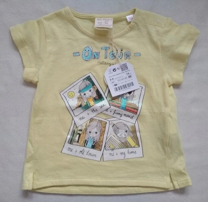Nowa bluzeczka zara 74 9932100023 Dziecięce Odzież WU HVKNWU-4