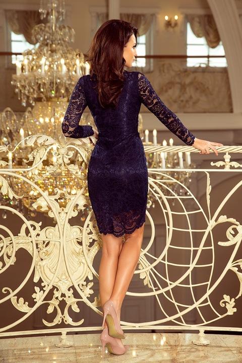 NUM 170 Piękna koronkowa sukienka WESELE__40 L 24h 9788724061 Odzież Damska Sukienki wieczorowe MR RMGWMR-1