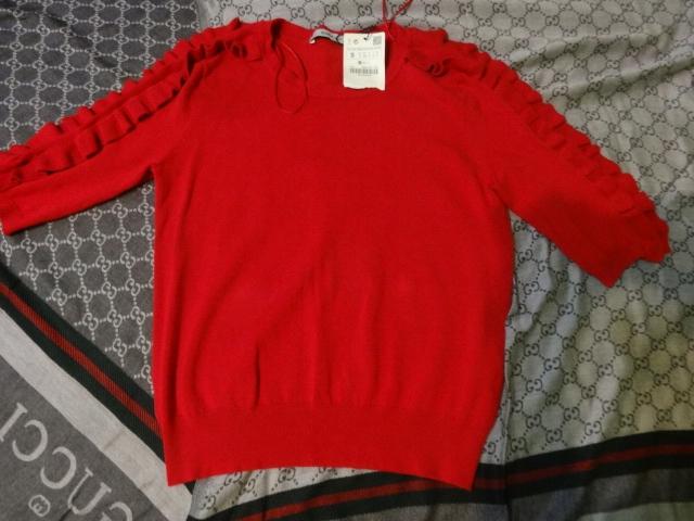 bluzka zara roz 36 9827911525 Odzież Damska Swetry WL VUFTWL-8