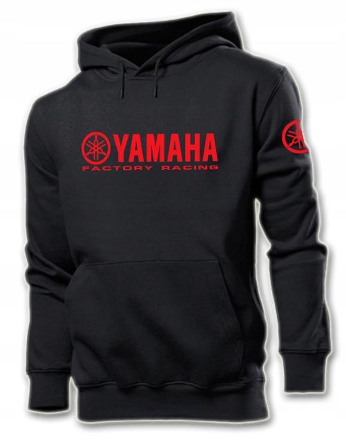 BLUZA YAMAHA FACTORY RACING MOTO GP MOTOCYKL L 9322266414 Odzież Męska Bluzy XF KTACXF-3