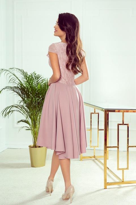 NUM 300-1 Patricia asymetryczna sukienka 42 XL 8989178714 Odzież Damska Sukienki wieczorowe CF HOULCF-3