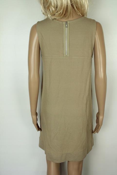 35210*H&M beżowa SUKIENKA z kieszeniami r.M* 9830743387 Odzież Damska Sukienki HR TEWMHR-7
