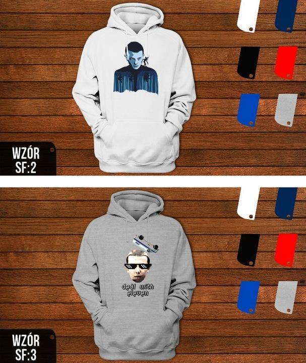 Bluza KAPTUR MĘSKA STRANGER THINGS PREZENT WZORY 7236202362 Odzież Męska Bluzy ZV EQZWZV-6