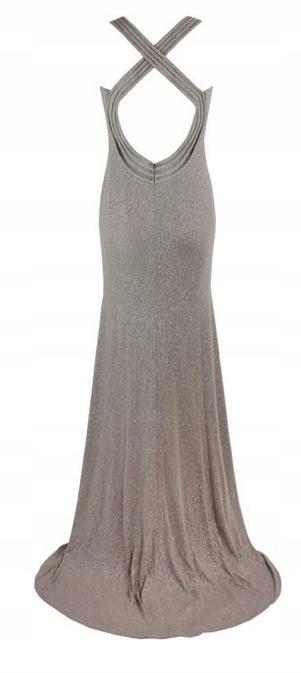Mascara suknia wieczorowa r.38 8631899205 Odzież Damska Sukienki wieczorowe EX JZBEEX-4
