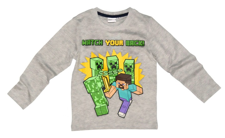 Bluzka MINECRAFT bluzeczka 152 8958005012 Dziecięce Odzież EM UAGMEM-7