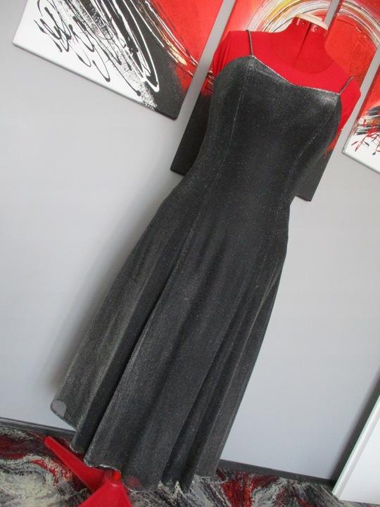SUKNIA WIECZOROWA Z USA ROZ M 8340866918 Odzież Damska Sukienki wieczorowe TE XUBFTE-5
