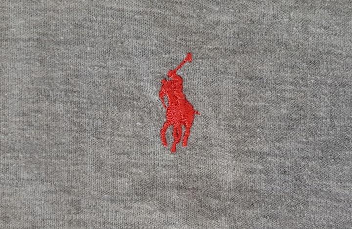 Koszulka Polo Ralph Lauren light grey roz S pony 9707133268 Odzież Męska Koszulki polo UT GZEKUT-7