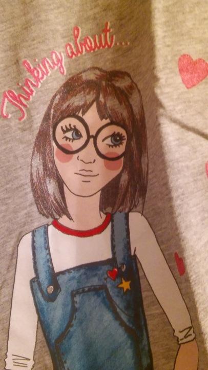 Zara Girls 7 lat bluzka bawełna nadruk dziewczynka 7540929122 Dziecięce Odzież TP USDLTP-5