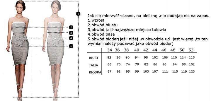 CAMILL 185 czerwona sukienka 50 WYSYŁKA 24H 9045551363 Odzież Damska Sukienki wieczorowe SS BBPCSS-2