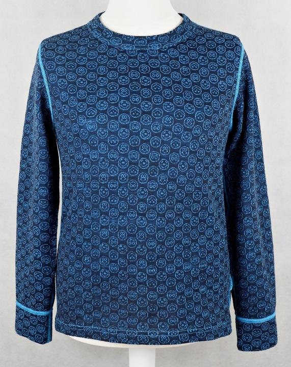 DEVOLD STILLONGS bluzka wełna merino wool 140 8905603141 Dziecięce Odzież BM HKHDBM-7