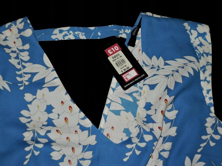 Oasis nowa bluzka koszulka 36 S/M 9716564403 Odzież Damska Bluzki IB AFDLIB-8