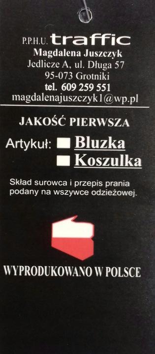 TRAFFIC POLSKA BAWEŁNIANA BLUZKA TRAKTOR 110 9815375541 Dziecięce Odzież PD OFBOPD-4