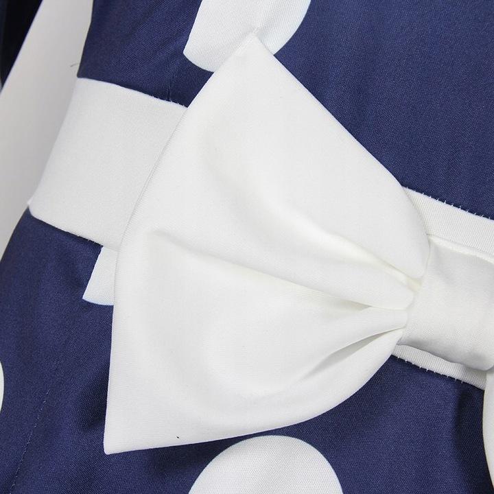 sukienka suknia ślub wesele komunia XL 42 grochy 9694386423 Odzież Damska Sukienki wieczorowe UH QSCGUH-9